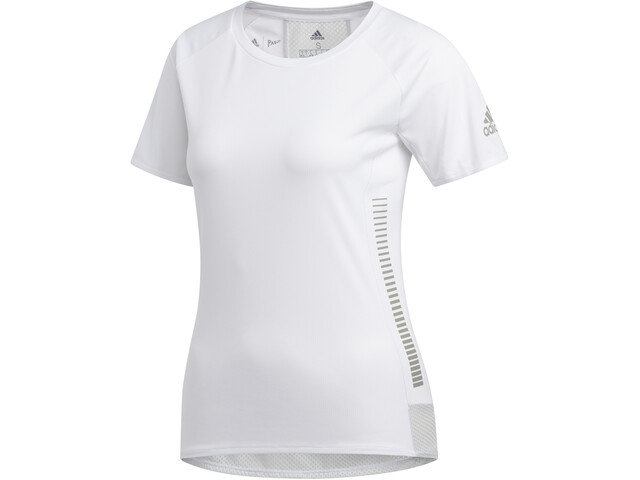 adidas 25/7 Rise Up N Run SS Tee Women white